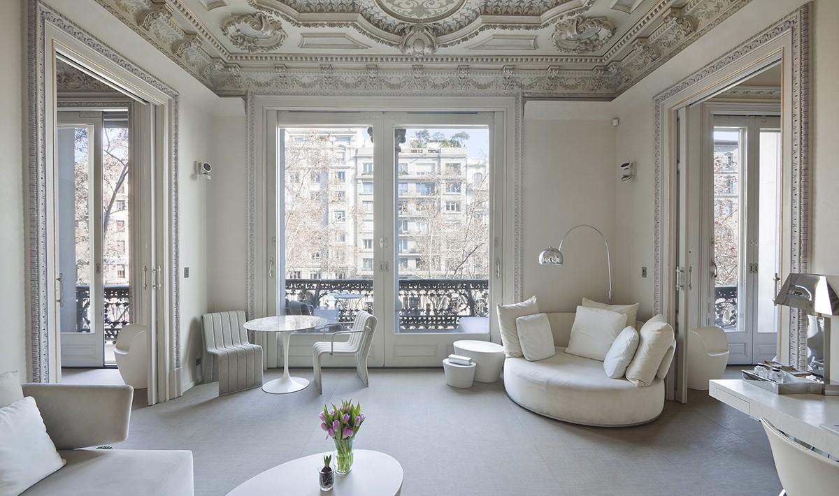 3 meravigliosi boutique hotel di lusso a barcellona the for Migliori hotel barcellona